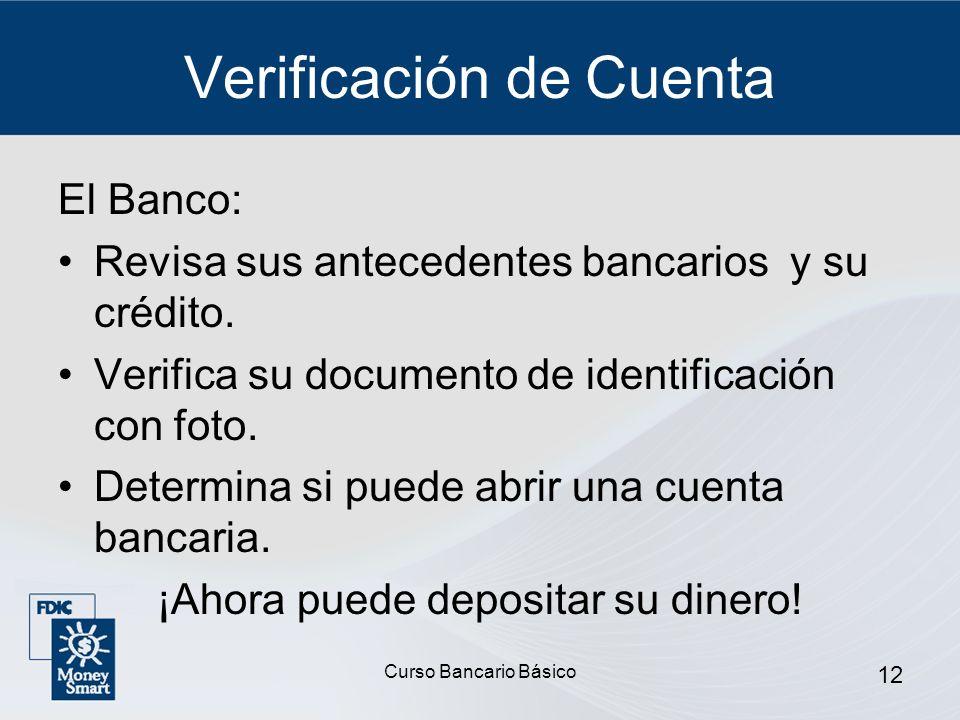 Verificación de Cuenta