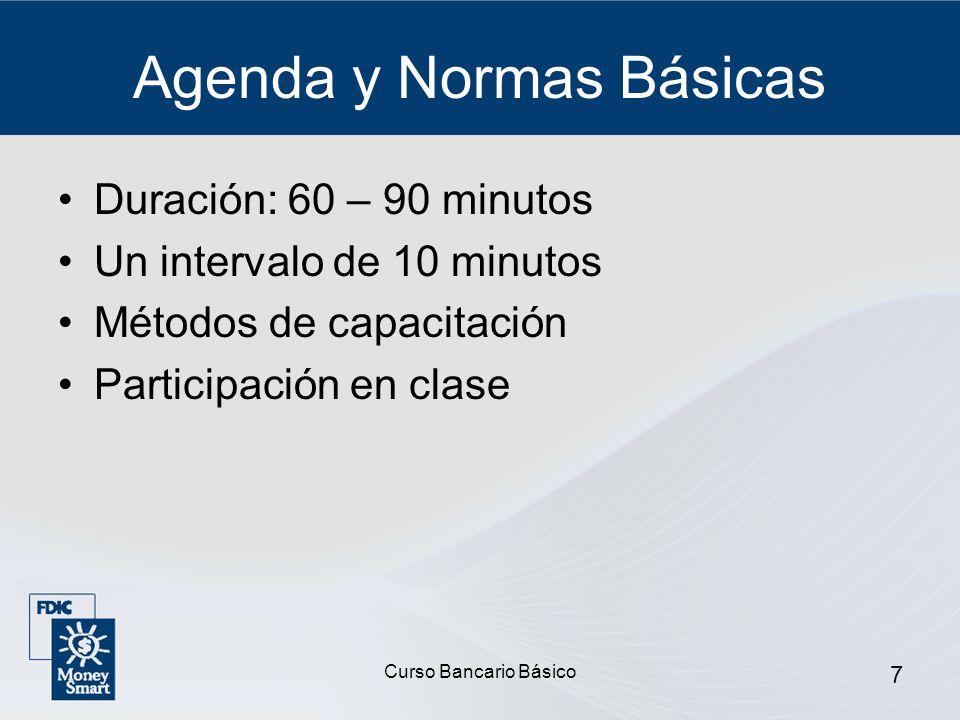 Agenda y Normas Básicas