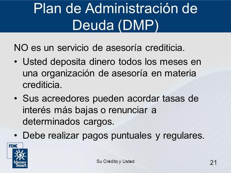 Plan de Administración de Deuda (DMP)