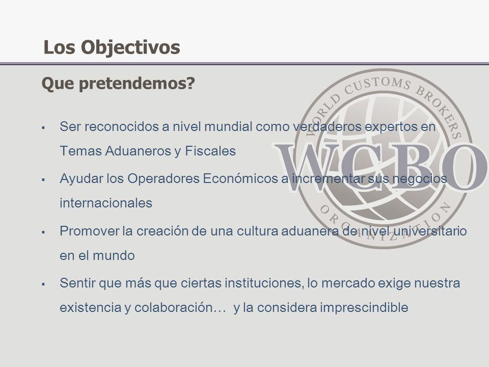 Los Objectivos Que pretendemos
