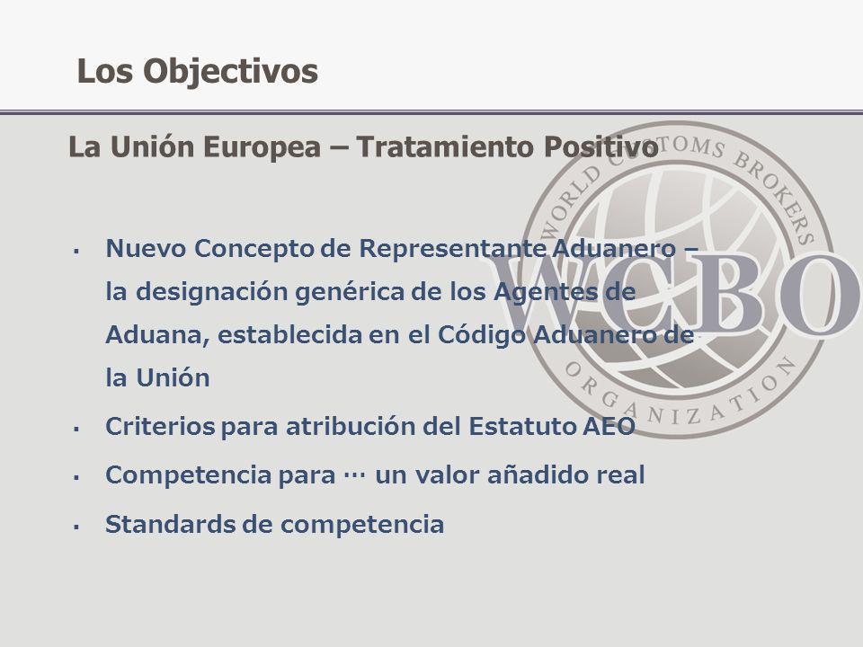 Los Objectivos La Unión Europea – Tratamiento Positivo