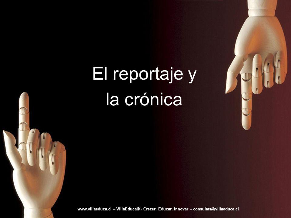 El reportaje y la crónica