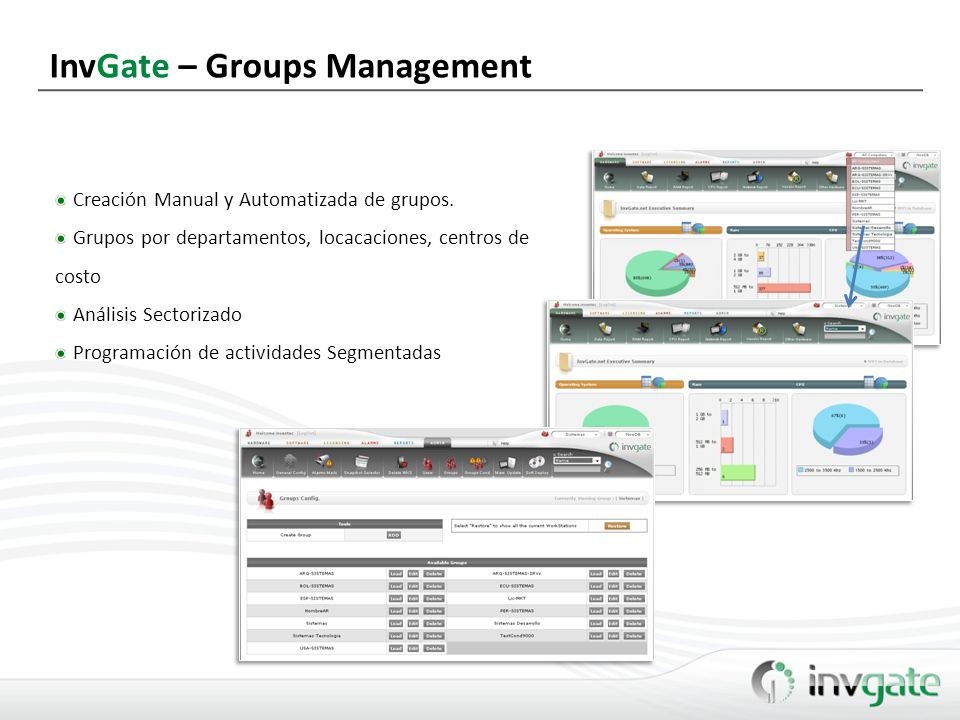 InvGate – Groups Management