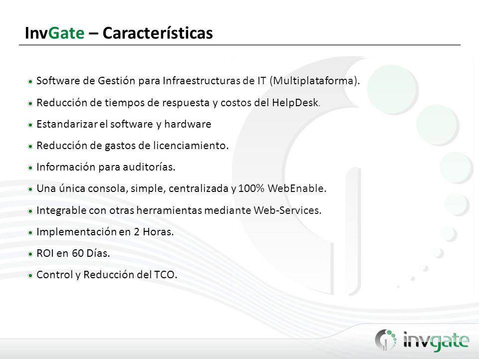 InvGate – Características