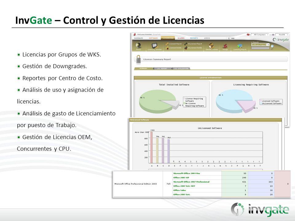 InvGate – Control y Gestión de Licencias