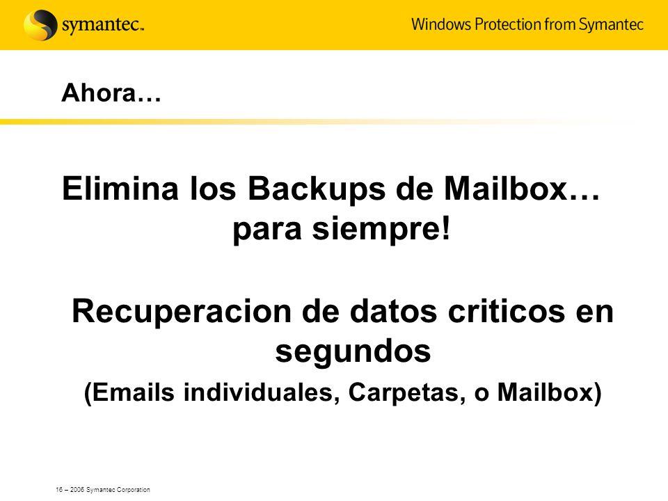 Elimina los Backups de Mailbox… para siempre!