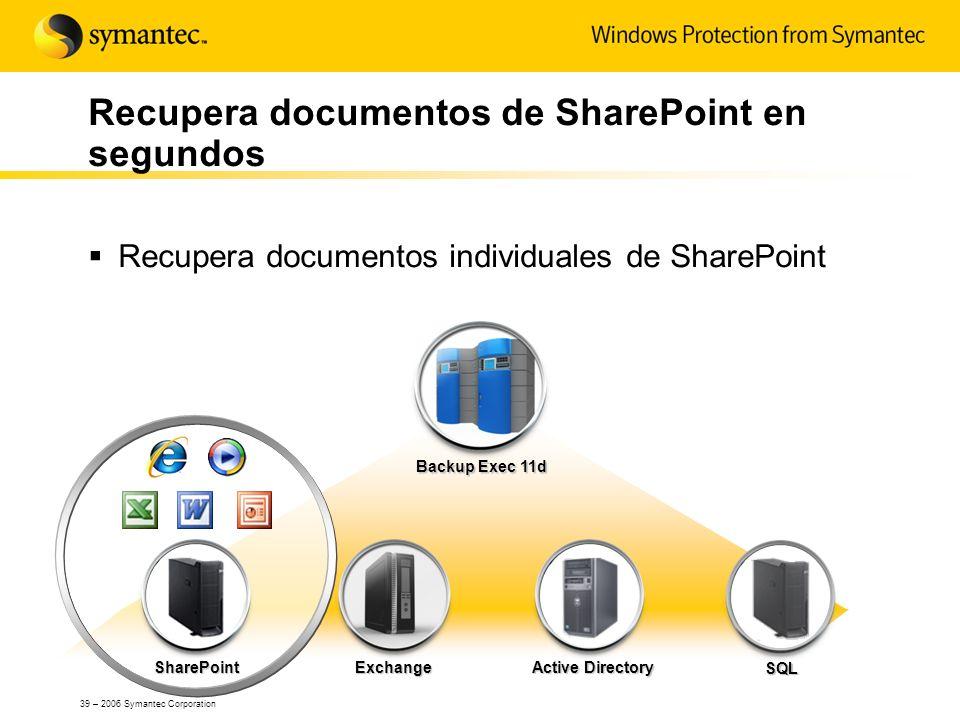 Recupera documentos de SharePoint en segundos