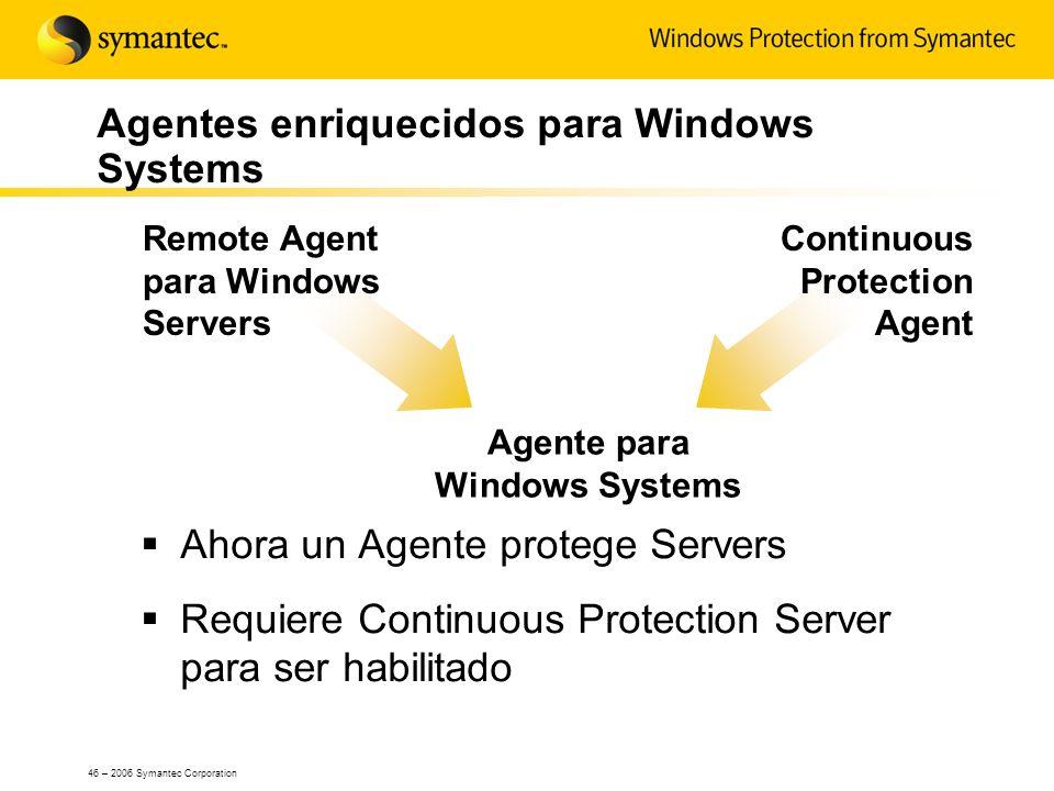 Agentes enriquecidos para Windows Systems