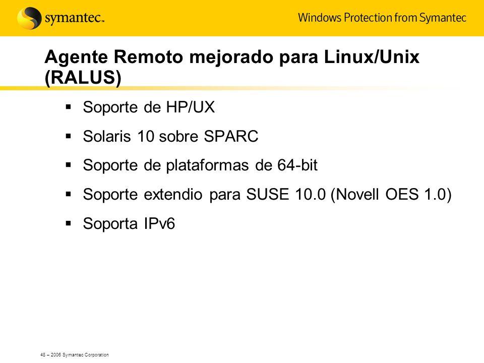 Agente Remoto mejorado para Linux/Unix (RALUS)