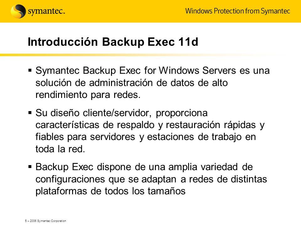 Introducción Backup Exec 11d