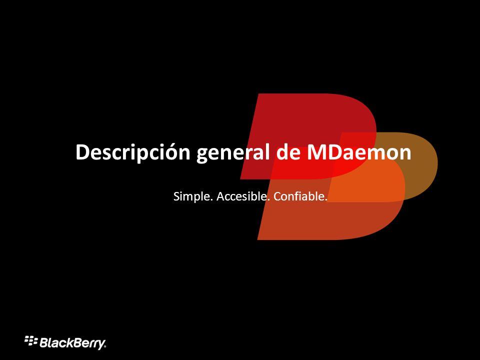 Descripción general de MDaemon