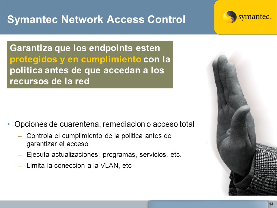 Symantec Network Access Control
