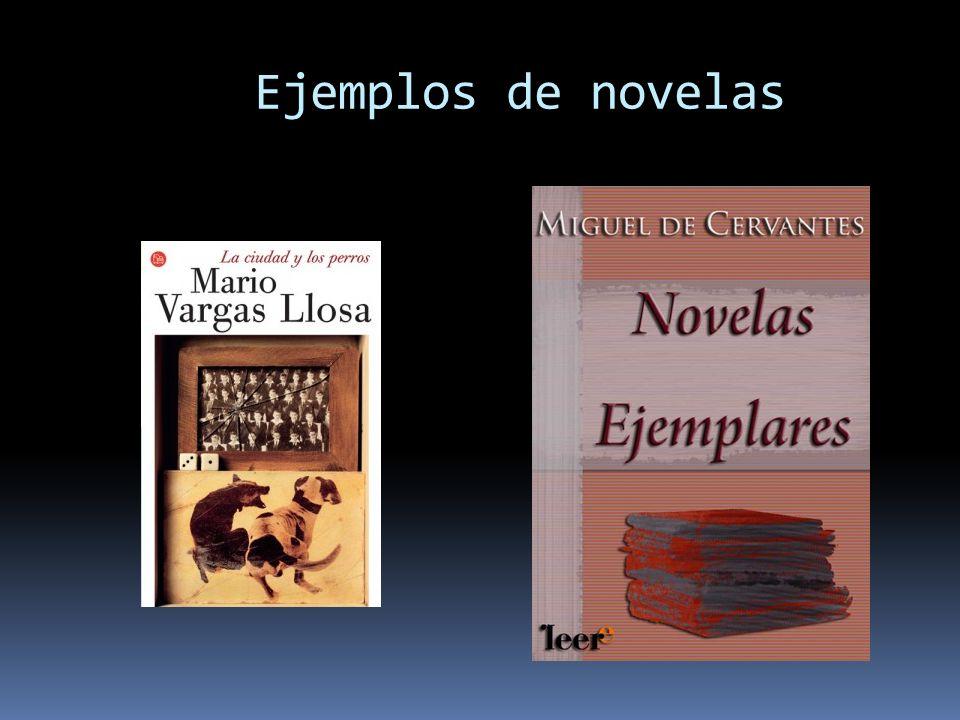 Ejemplos de novelas