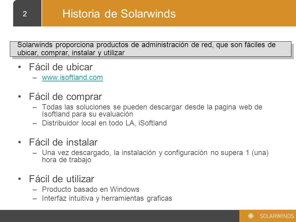 Historia de Solarwinds