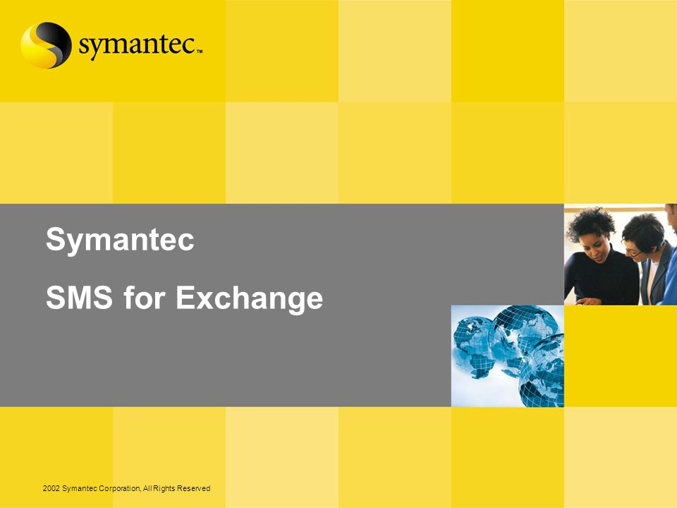 Symantec SMS for Exchange