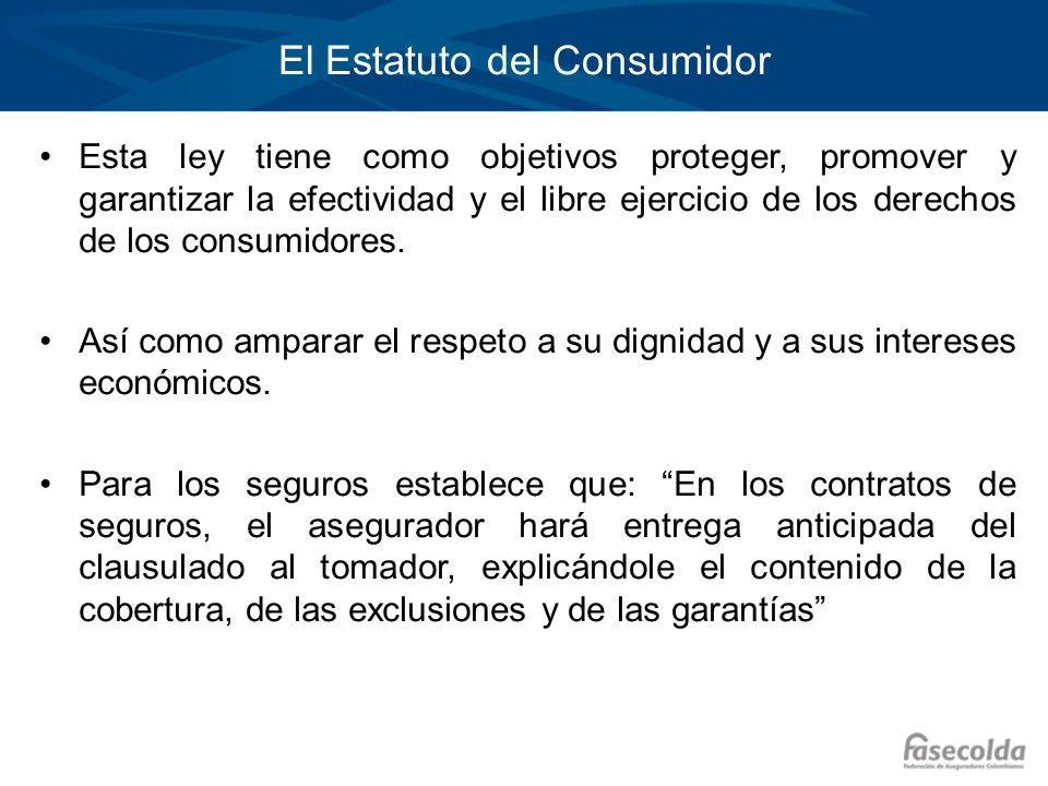 El Estatuto del Consumidor