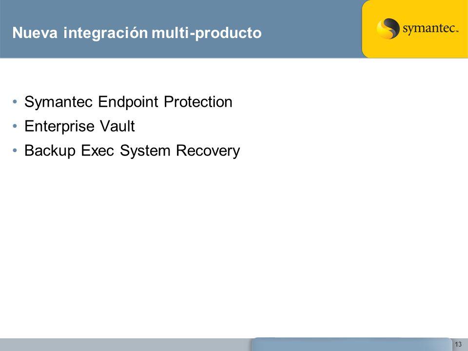 Nueva integración multi-producto