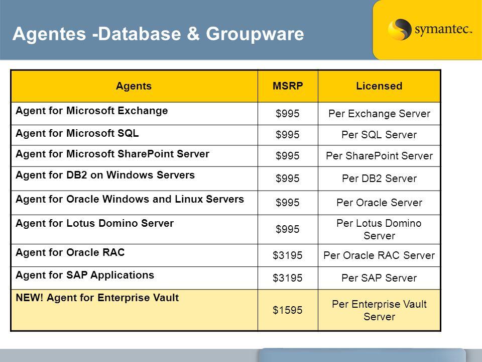 Agentes -Database & Groupware
