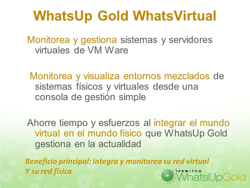 WhatsUp Gold WhatsVirtual