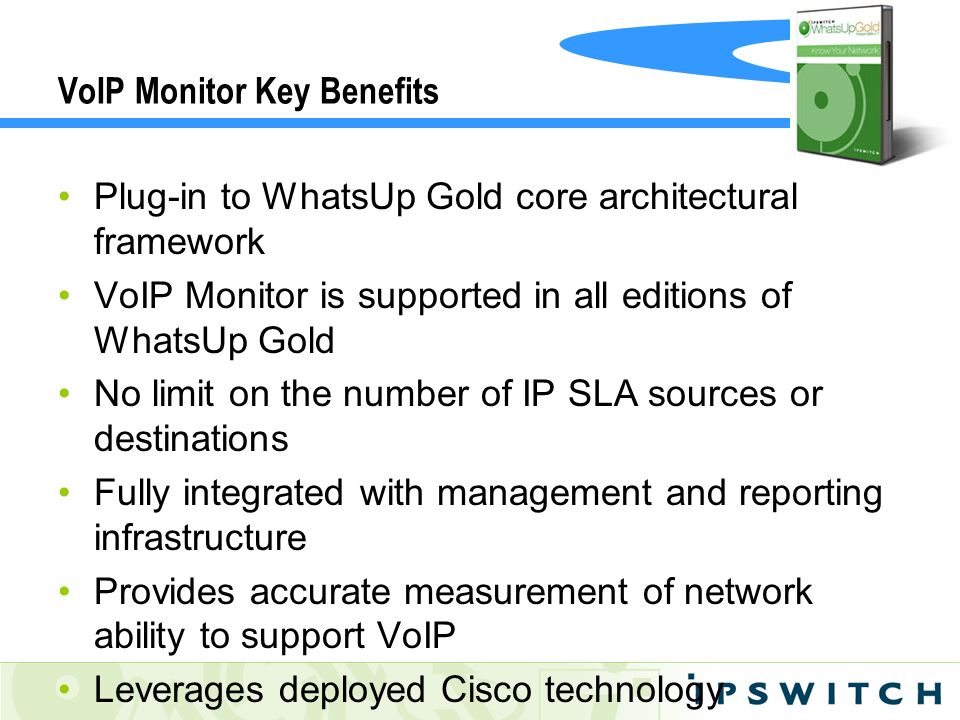 VoIP Monitor Key Benefits