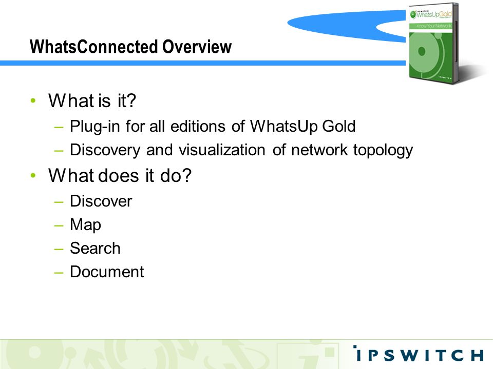 WhatsConnected Overview