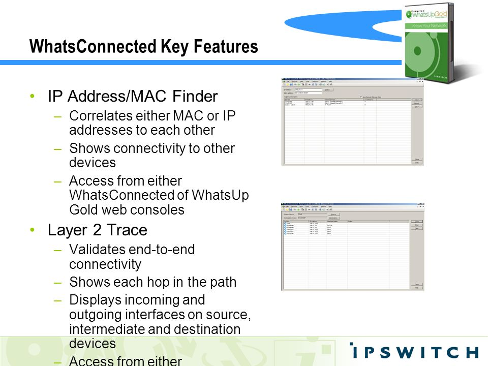 WhatsConnected Key Features