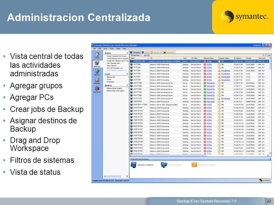 Administracion Centralizada