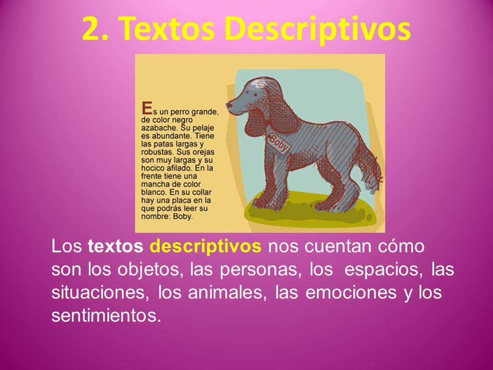 2. Textos Descriptivos