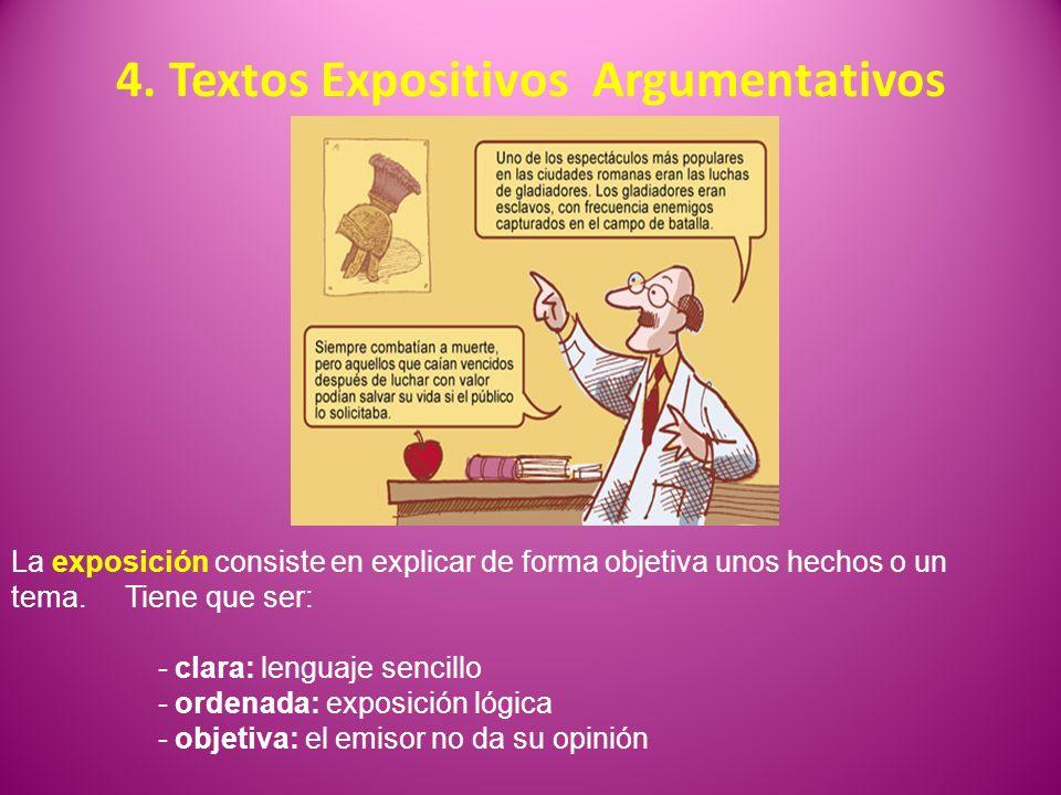 4. Textos Expositivos Argumentativos