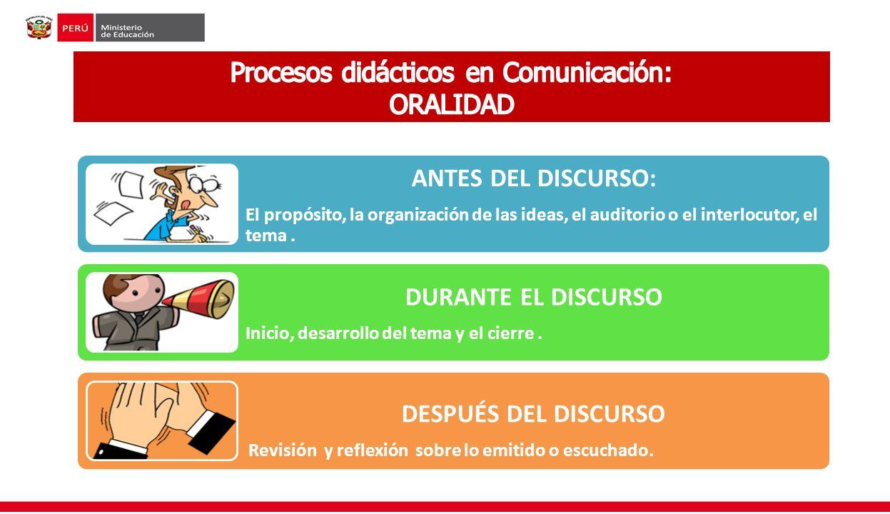 Procesos didácticos en Comunicación: