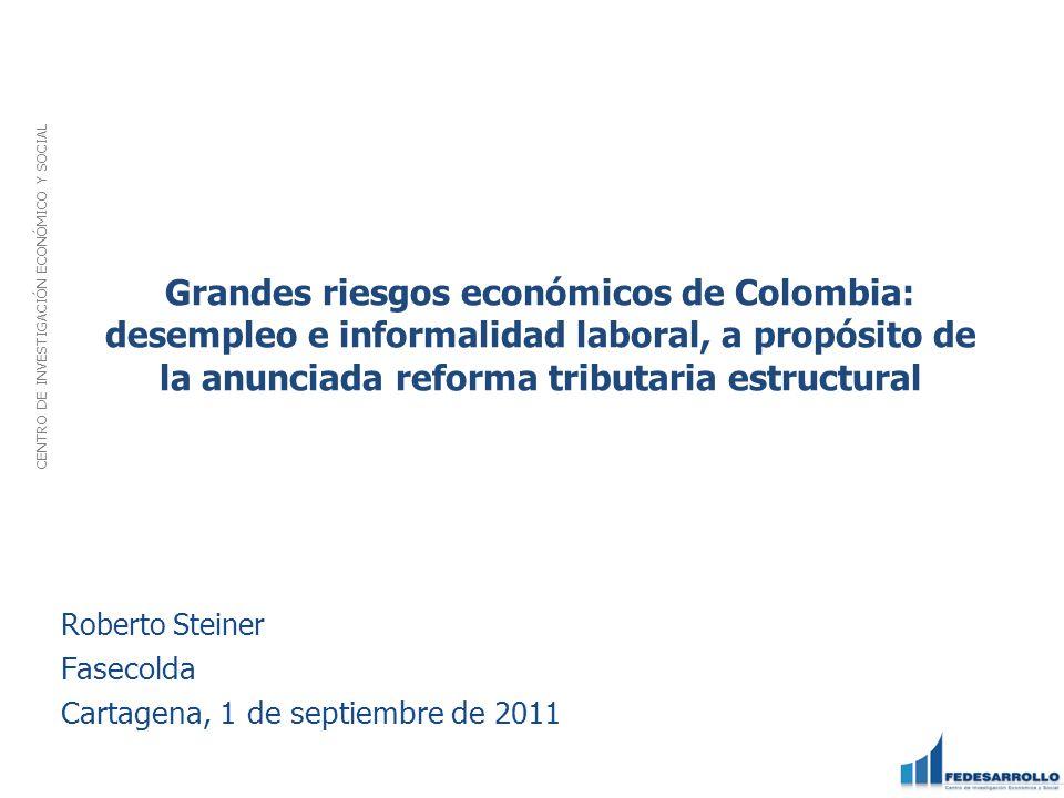 Roberto Steiner Fasecolda Cartagena, 1 de septiembre de 2011