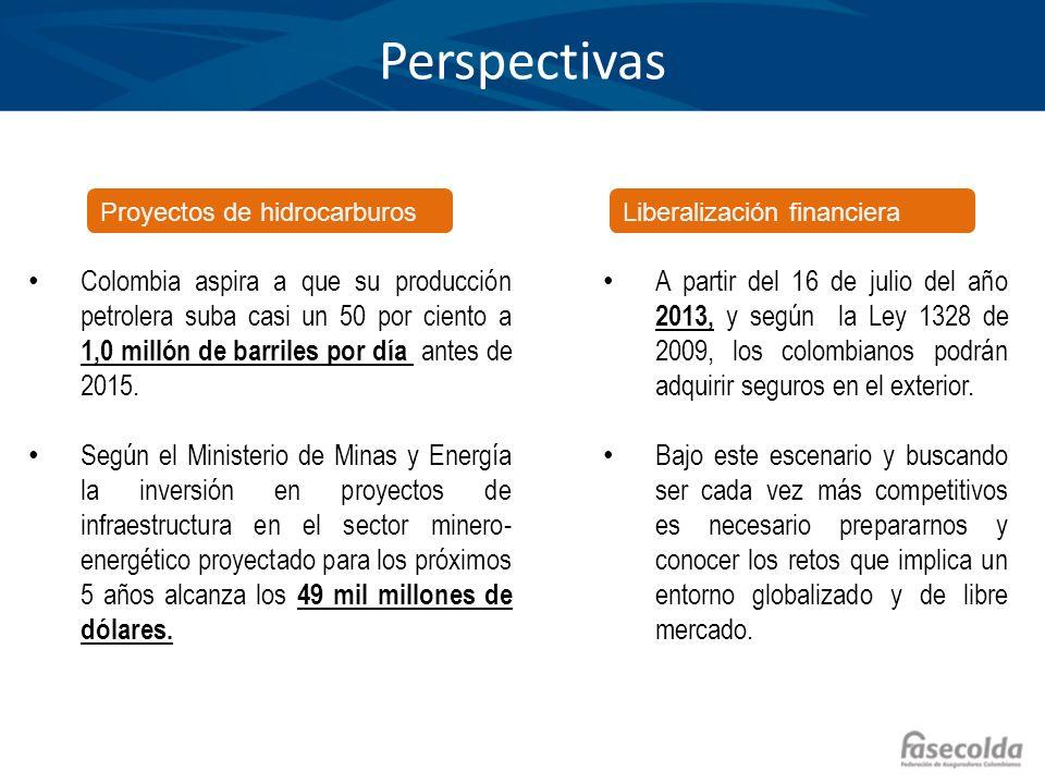Perspectivas Proyectos de hidrocarburos. Liberalización financiera.