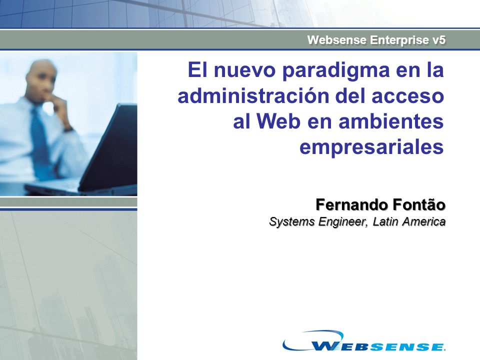 Fernando Fontão Systems Engineer, Latin America
