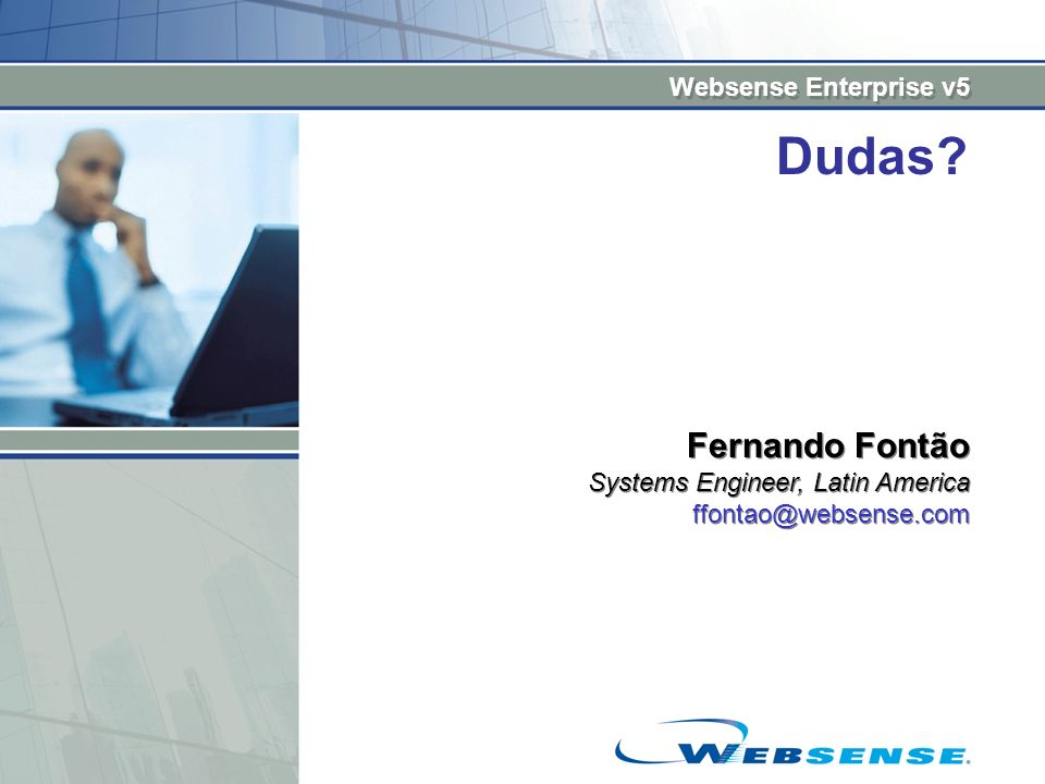 Dudas Fernando Fontão Systems Engineer, Latin America