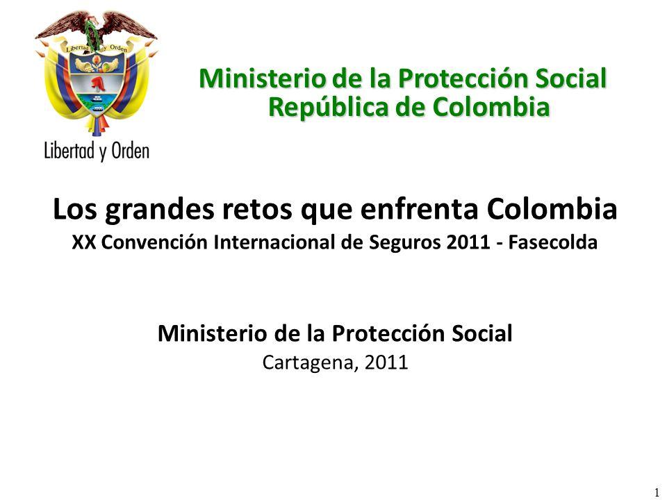 Los grandes retos que enfrenta Colombia