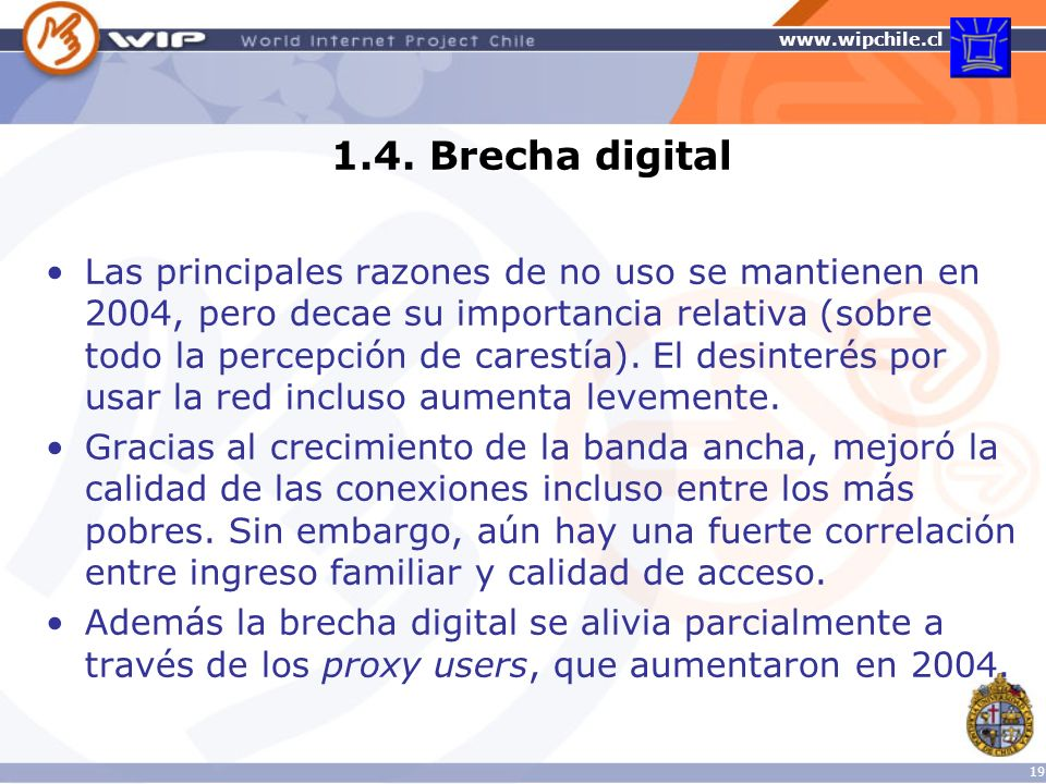1.4. Brecha digital