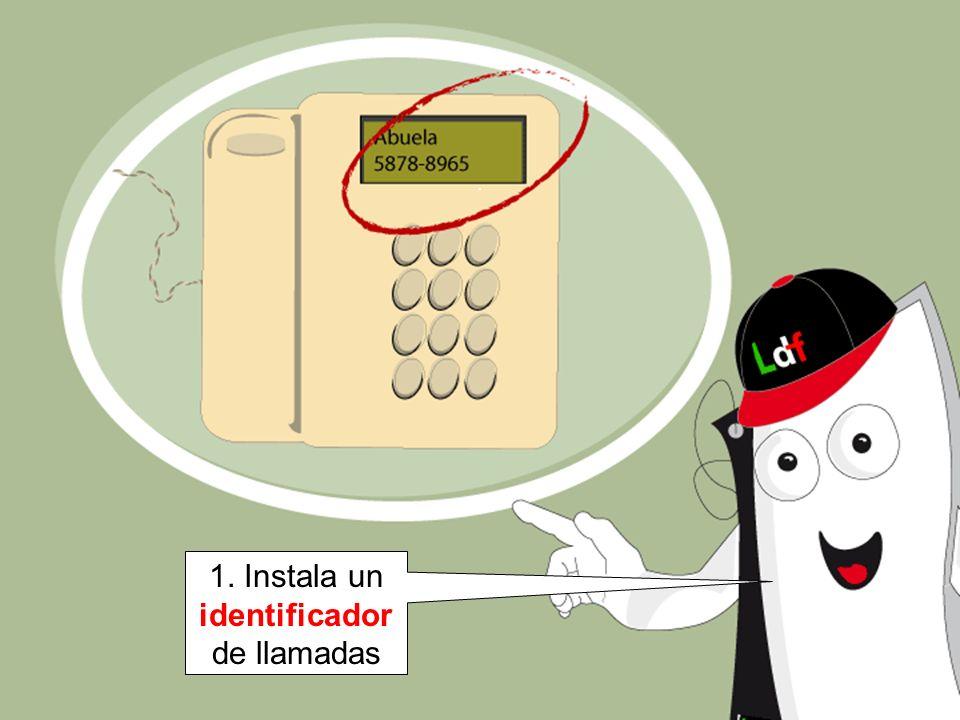1. Instala un identificador de llamadas
