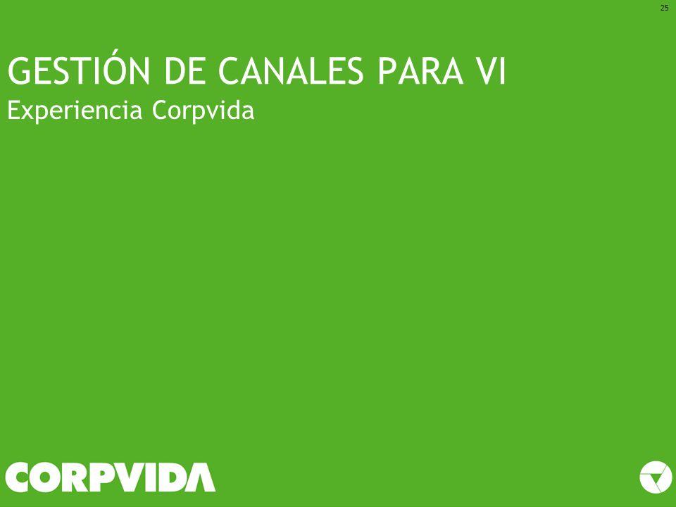 GESTIÓN DE CANALES PARA VI
