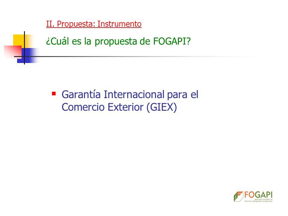 Garantía Internacional para el Comercio Exterior (GIEX)
