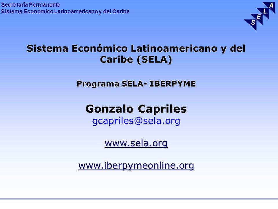 Gonzalo Capriles Sistema Económico Latinoamericano y del Caribe (SELA)