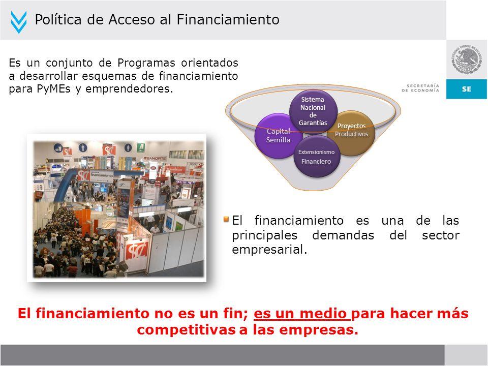 Política de Acceso al Financiamiento