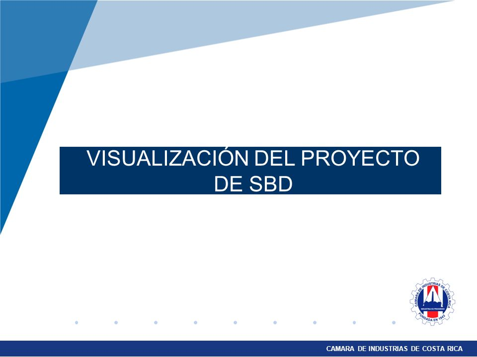 VISUALIZACIÓN DEL PROYECTO DE SBD