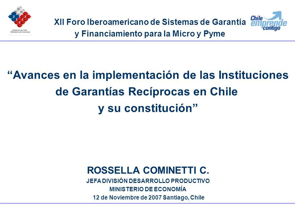 Avances en la implementación de las Instituciones