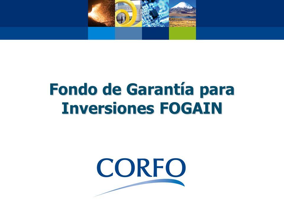 Fondo de Garantía para Inversiones FOGAIN