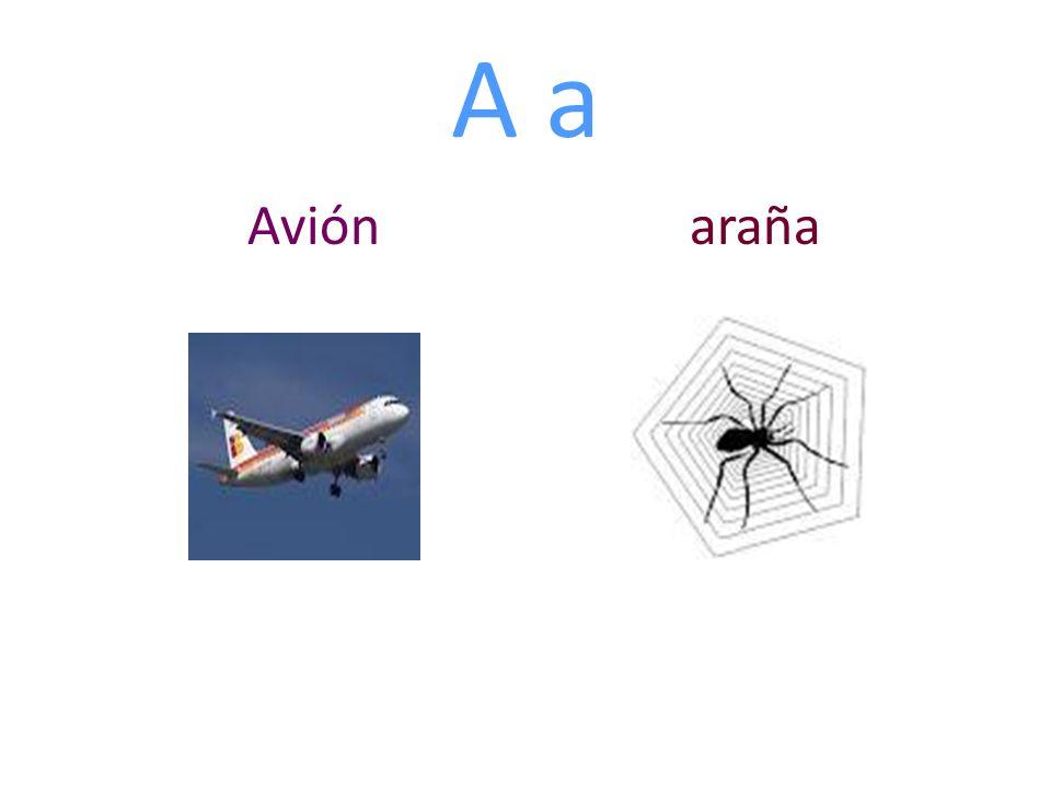 A a Avión araña
