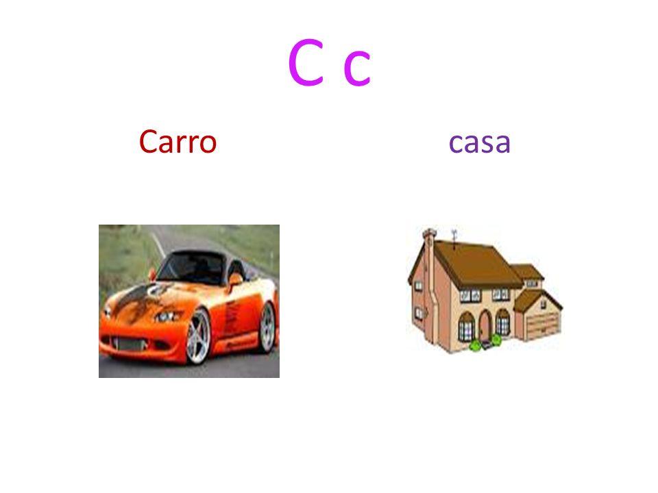 C c Carro casa