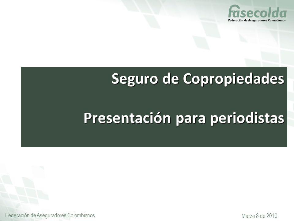 Seguro de Copropiedades Presentación para periodistas