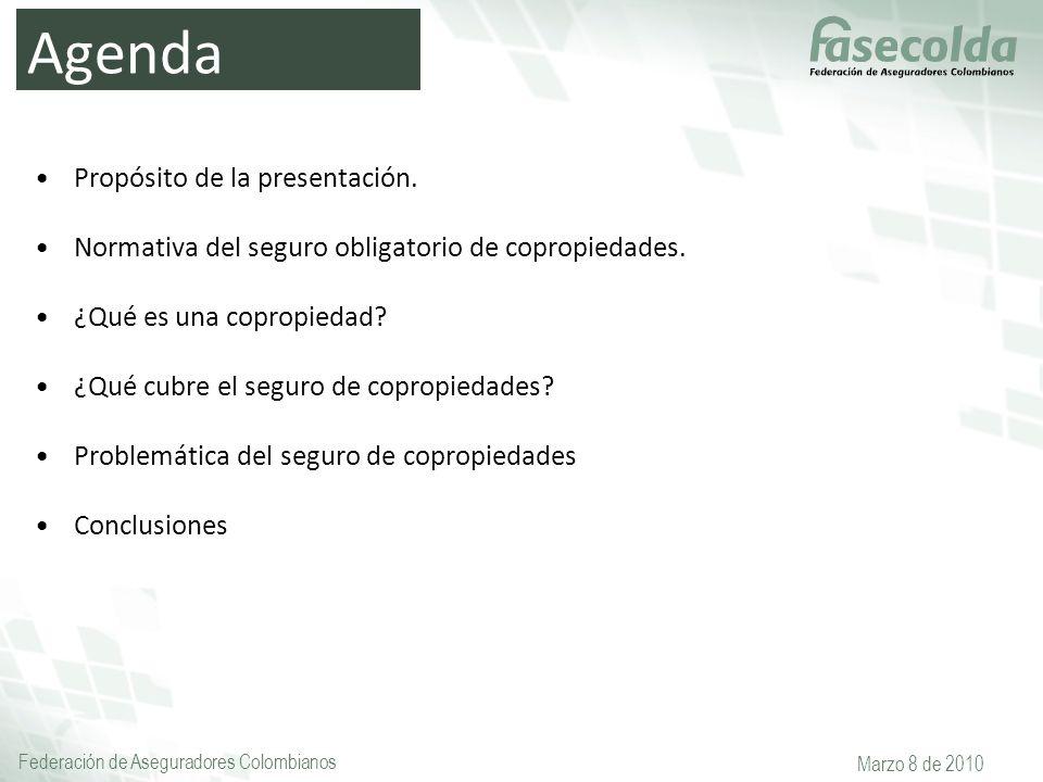 Agenda Propósito de la presentación.