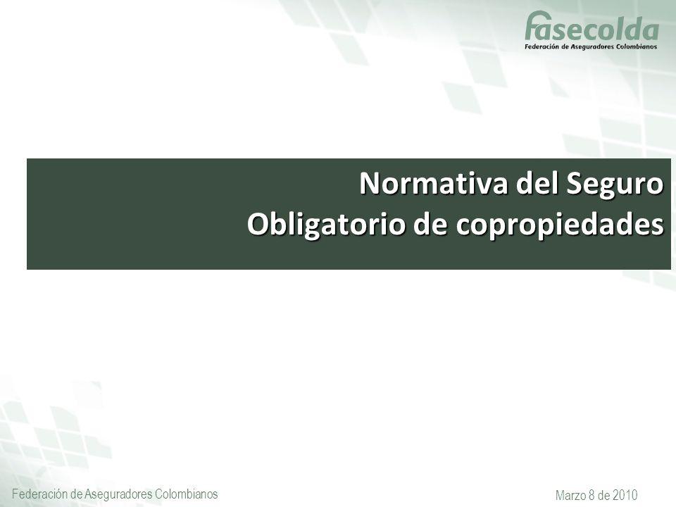 Normativa del Seguro Obligatorio de copropiedades