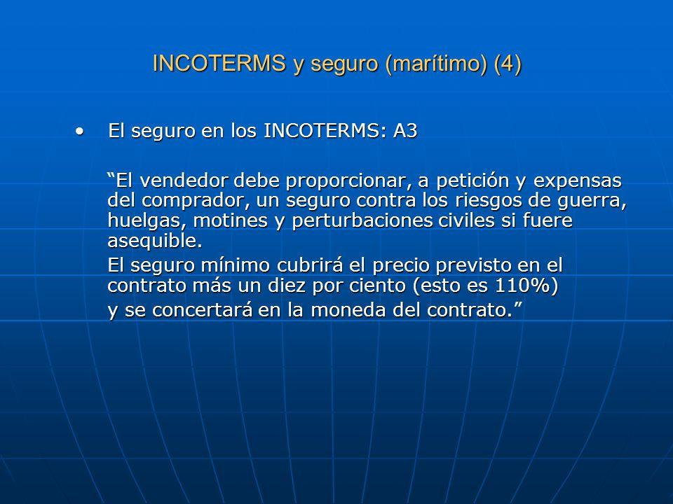 INCOTERMS y seguro (marítimo) (4)